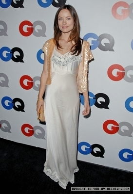 Olivia at the GQ Men of the Year party in LA