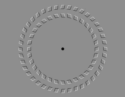 Puzzles and Brain Teasers Обои entitled Optical Illusion