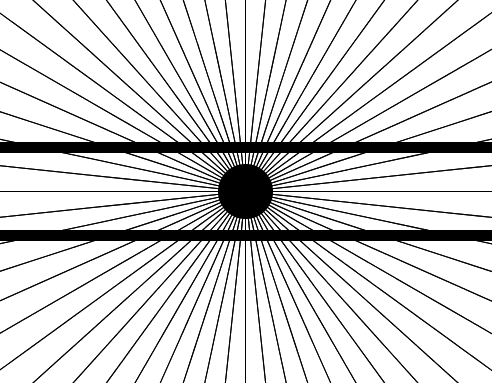 Puzzles and Brain Teasers achtergrond called Optical Illusion