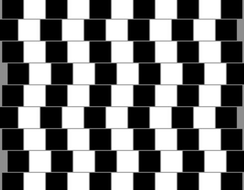 Puzzles and Brain Teasers achtergrond entitled Optical Illusion
