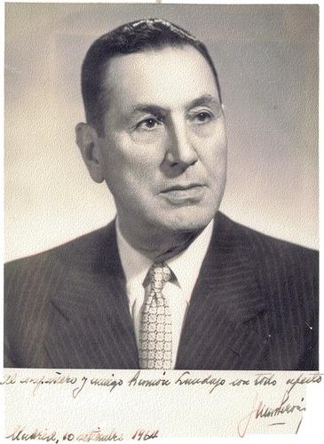 President Domingo Peron