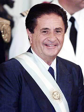 President Eduardo Duhalde