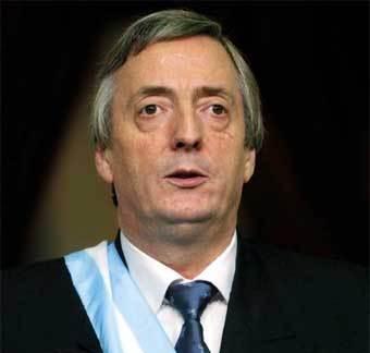 President Nestor Kirchner