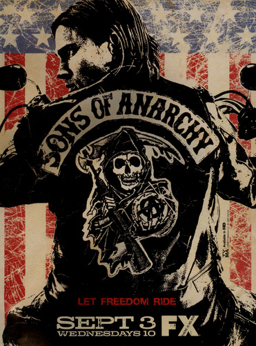 Sons Of Anarchy wallpaper possibly with a jersey and anime entitled Promotional Poster