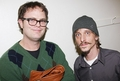 Rainn and Mackenzie Crook