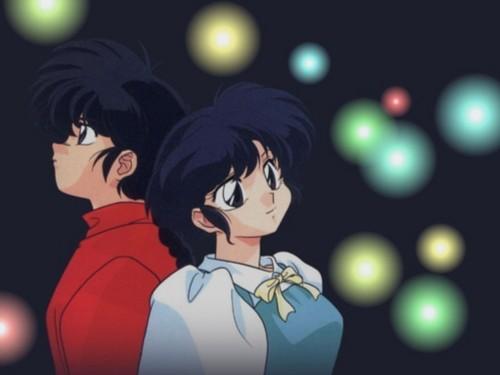 Ranma and Akane bg1