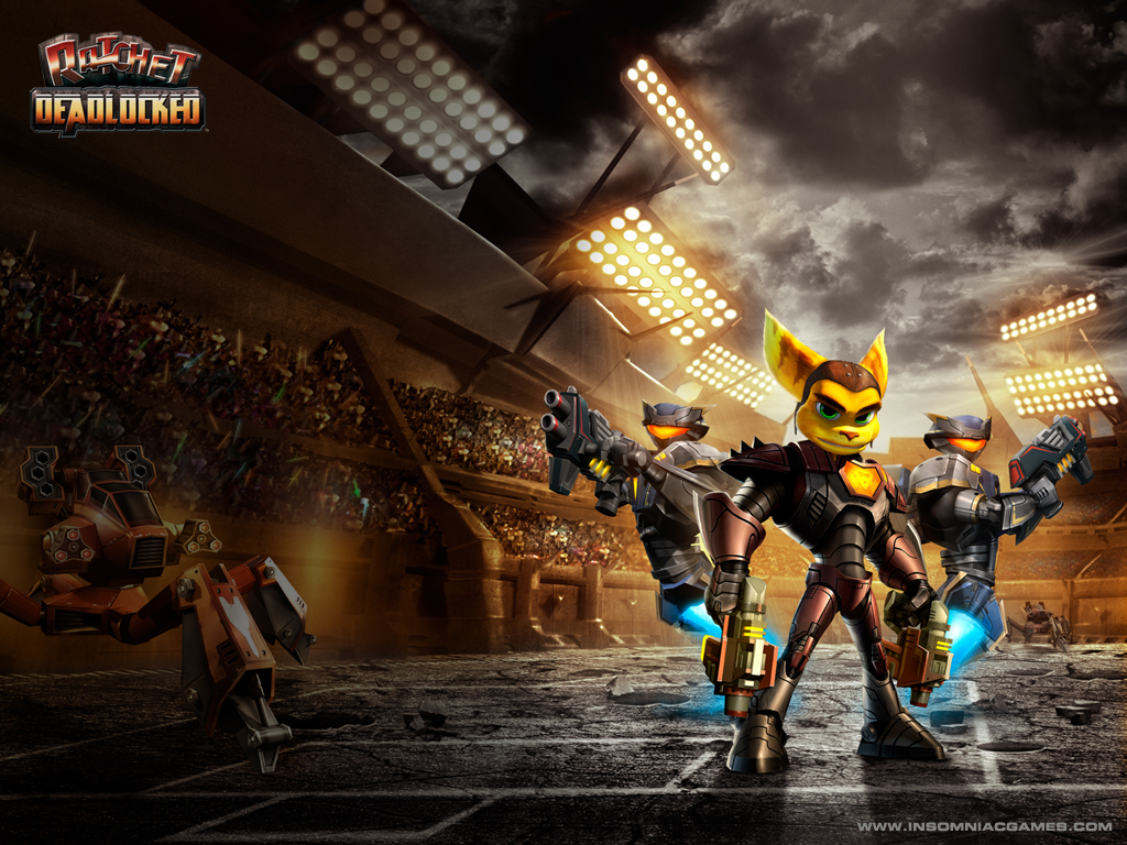 Ratchet and Clank Club Ratchet Deadlocked