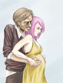 Remus and Tonks - tonks fan art