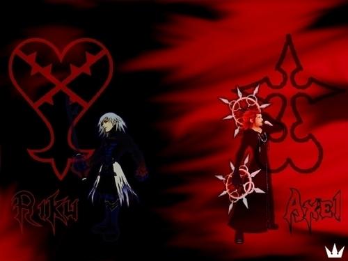 Riku and Axel