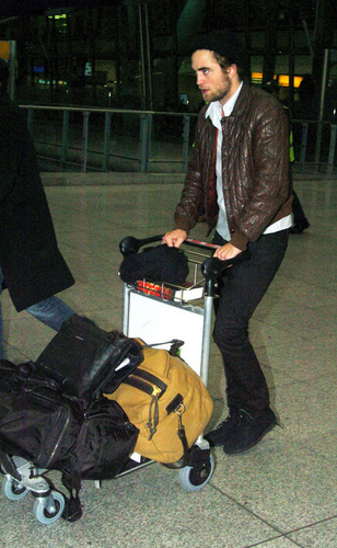 Rob at Heathrow airport