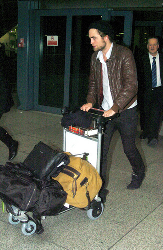Rob at Heathrow airport