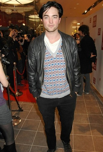 Rob at Megastore Launch