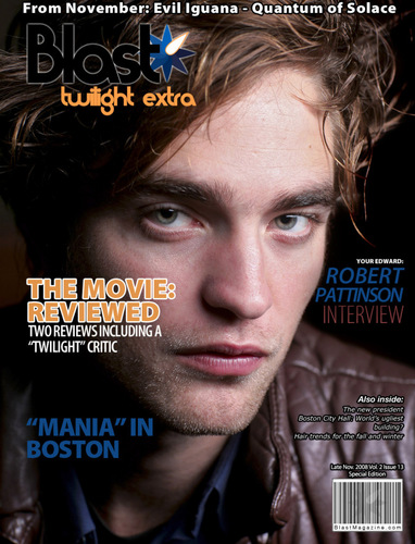 Rob on Magazine Cover