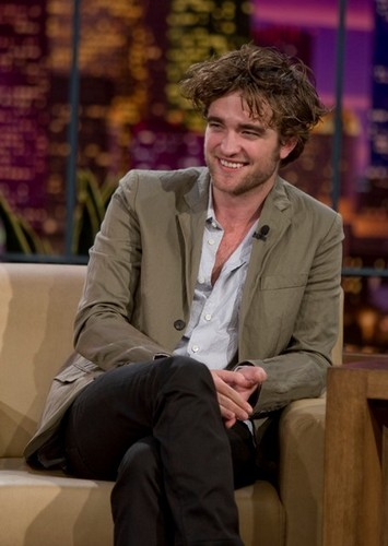 Rob on Tonight mostrar w/ arrendajo, jay Leno