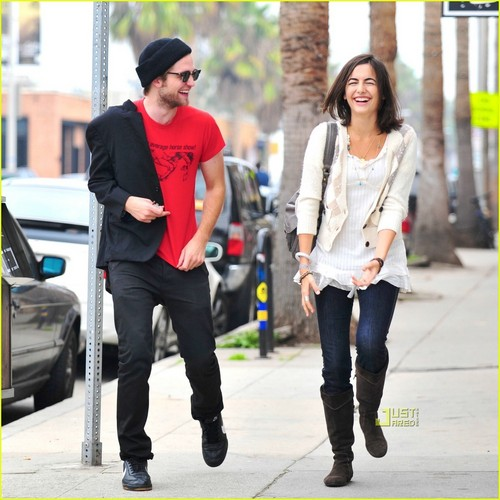 Robert Pattinson & Camilla Belle