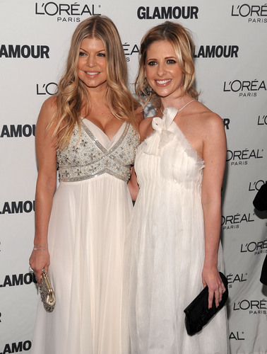 SMG and Fergie at Women of the năm Awards 2008