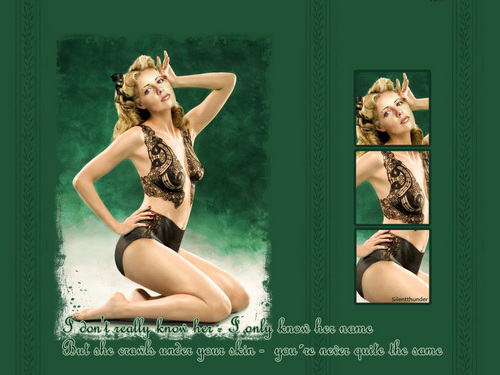Sarah Michelle Gellar wallpaper possibly containing a bikini entitled SMG