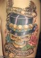 Skeletons - tattoos photo
