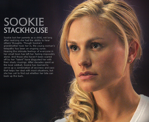Sookie Stackhouse wallpaper containing a portrait titled Sookie