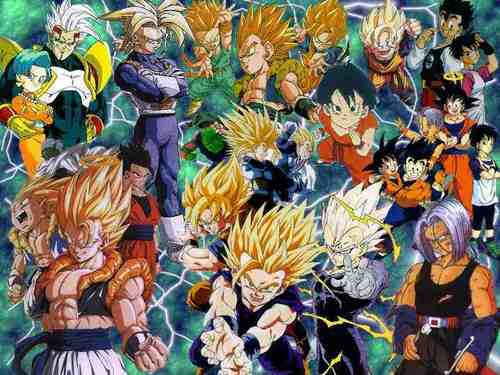 dragon ball z wallpaper possibly containing anime entitled Super DBZ