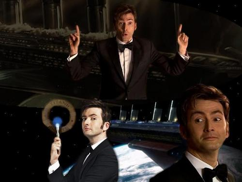 The Tenth Doctor wallpaper containing a business suit, a suit, and a dress suit called THE Doctor