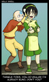 TOPH AND AANG - toph fan art