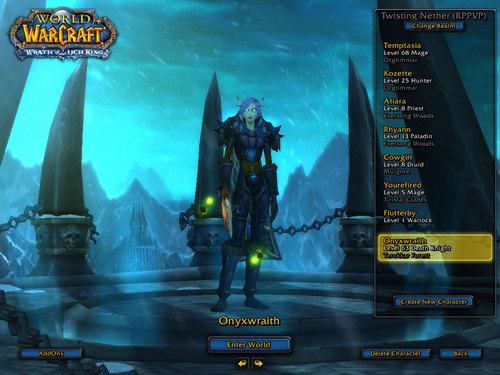 Temptasia's DK Onyxwraith