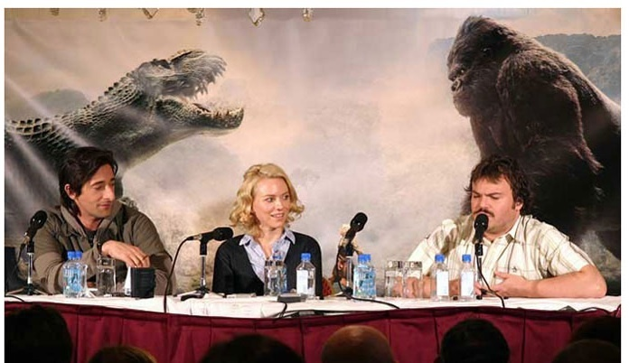 King Kong Images The 2005 Cast Of King Kong Wallpaper And Background