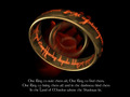 The One Ring - lord-of-the-rings wallpaper