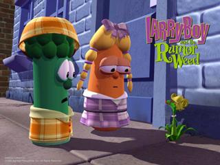 The rumor weed meets the veggie kids