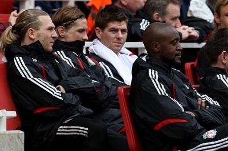 Steven Gerrard And Fernando Torres 바탕화면 called Torres And Gerrard
