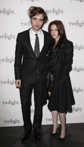 Twilight - Londres Premiere