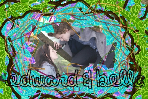 Twilight fuente fan Art Competition: E&B fondo de pantalla