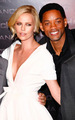 Will and Charlize at the Paris premiere of Hancock - will-smith photo