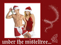 X-MAS James and Sarah Michelle Gellar - james-marsters wallpaper
