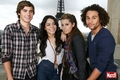 Zac, Vanessa, Ashley & Corbin
