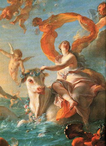 Greek Mythology wallpaper called Zeus and Europa