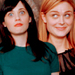 Zooey and Emily - deschanel icon