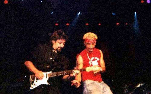A. J. McLean वॉलपेपर with a guitarist and a संगीत कार्यक्रम titled aj