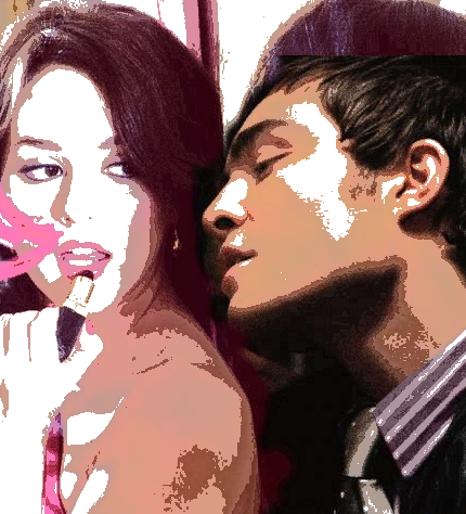 Blair & Chuck wallpaper probably with a portrait entitled blair  chuck love