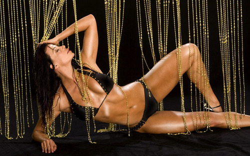 Candice Michelle achtergrond titled April Showers - Candice Michelle