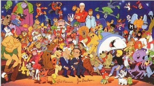 Hanna Barbera wallpaper with anime called cartoon characters