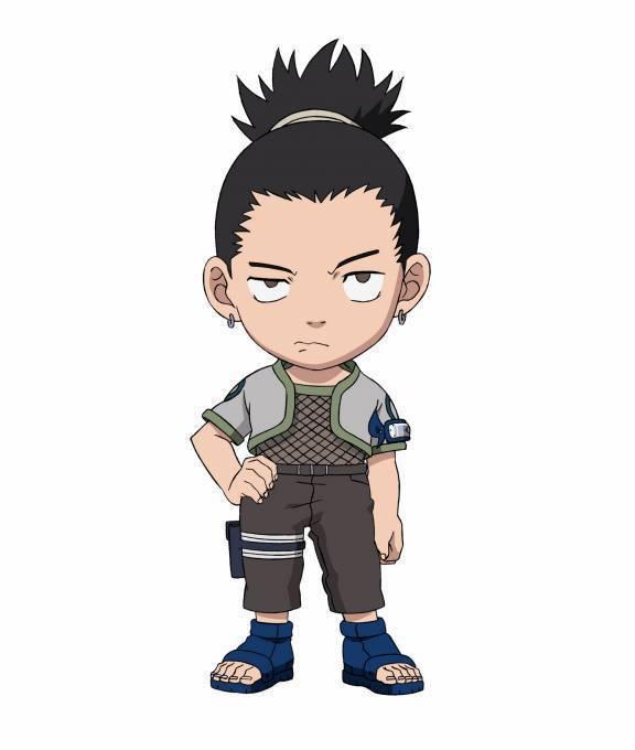 Shikamaru :: Chibi Chibi Manga Gaara And Neji