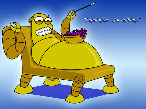 hedonism bot wallpaper probably containing comic book in The Futurama Club