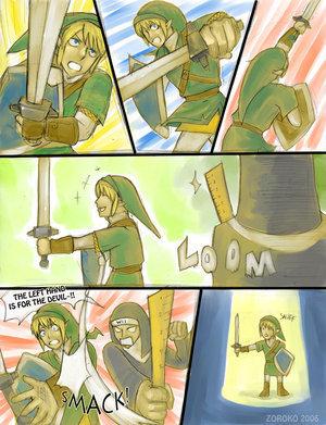 link comic!