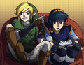 link vs marth!!!:) - the-legend-of-zelda fan art