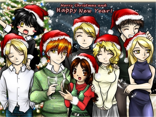 merry Krismas from the cullens
