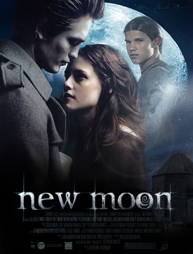 new moon poster new moon movie photo 2967263 fanpop