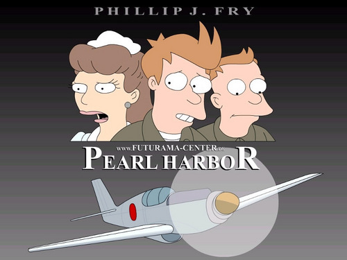 pearlharbor - futurama Wallpaper