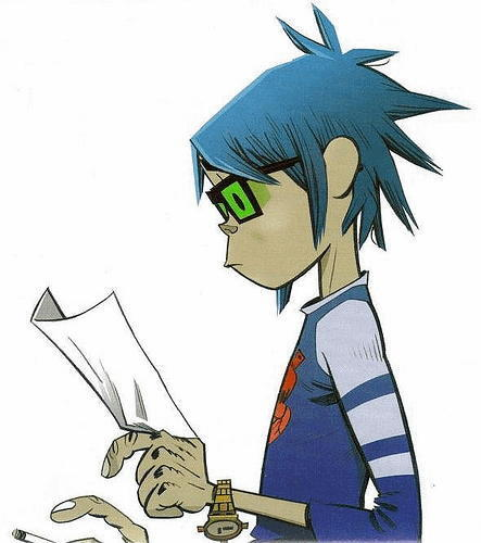 2D  - gorillaz Photo